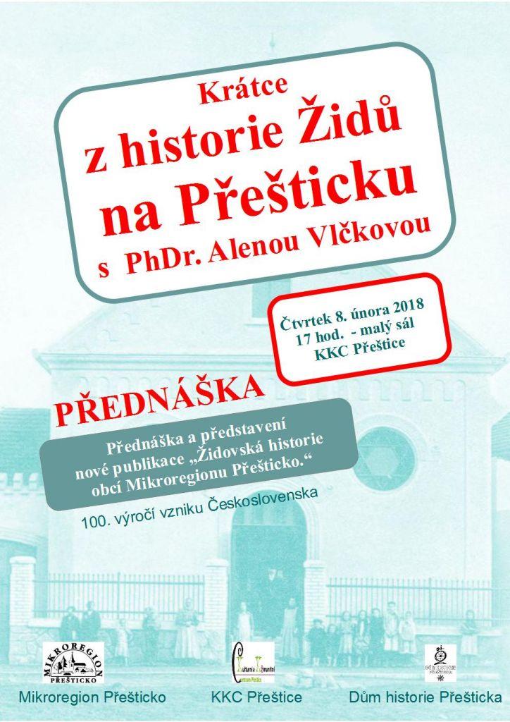 Přednáška PhDr. Aleny Vlčkové