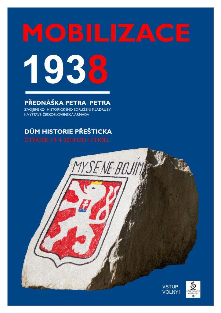 Mobilizace 1938 - přednáška