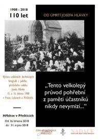 Pohřeb Josefa Hlávky